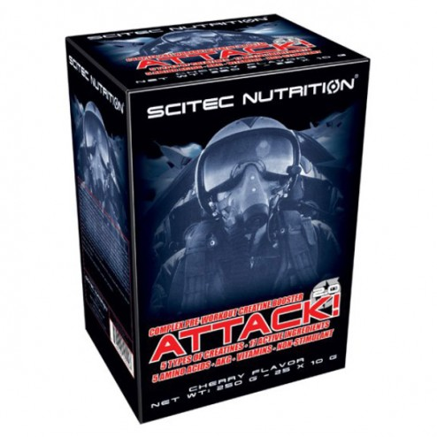 Scitec Nutrition Attack 2.0 кутия 25 пакета