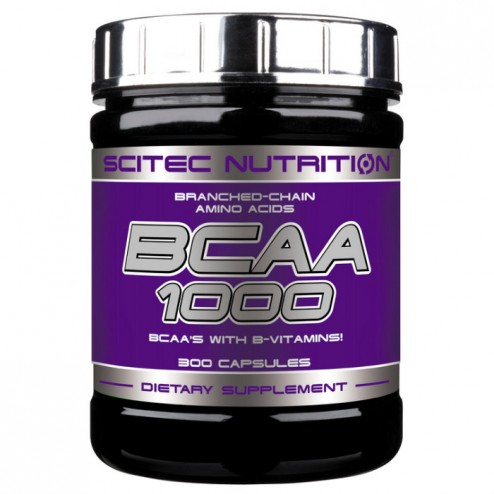 Scitec Nutrition BCAA 1000 300 капсули (150 дози)