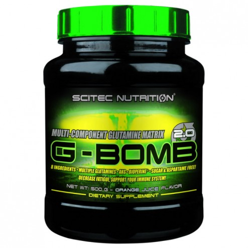 Scitec Nutrition G-Bomb 2.0 500 гр. (35 дози)