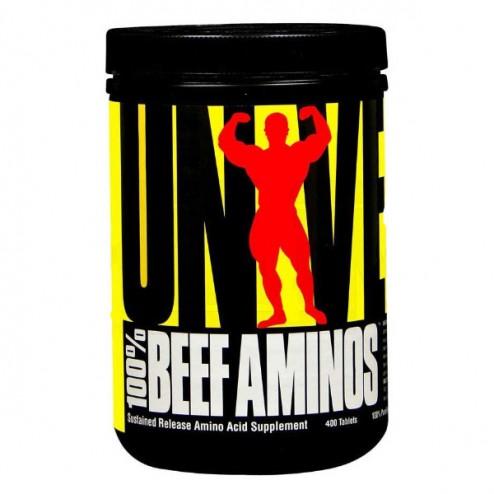 Universal Nutrition 100% Beef Aminos 400 таблетки (133 дози)
