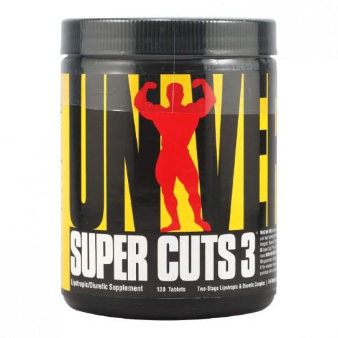 Universal Nutrition Super Cuts 3 130 таблетки (43 дози)