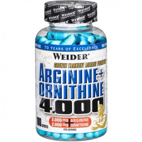 Weider Arginine + Ornithine 4000 180 капсули