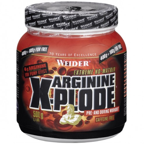 Weider Arginine X-Plode 500 гр.