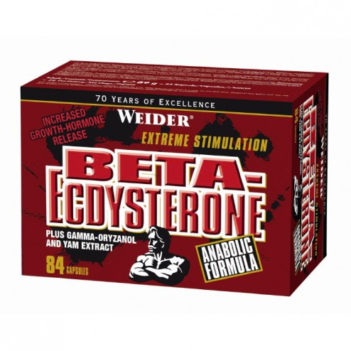 Weider Beta-Ecdysterone 84 капсули (28 дози)