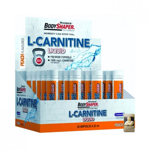 Weider L-Carnitine Liquid 20 ампули х 25 мл.