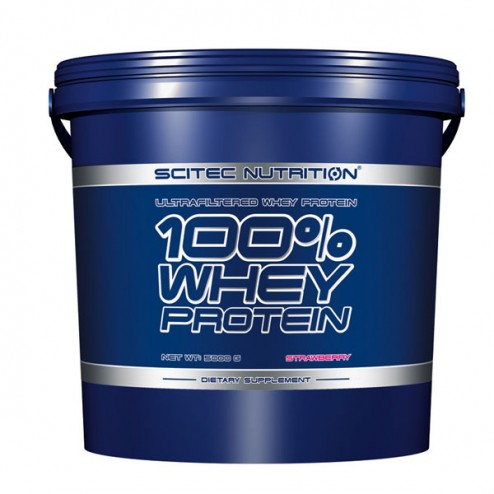 Scitec Nutrition 100% Whey Protein 5000 гр (166 дози)
