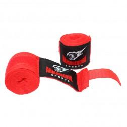 Боксов бинт Armageddon Sports Blue/Red/Black (чифт)