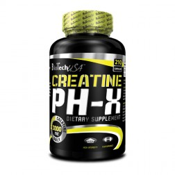 BioTech USA Creatine PH-X 210 капсули