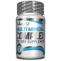 BioTech USA Multi Mineral Complex / 11 важни минерали 100 таблетки