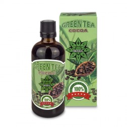 Cvetita Herbal GREEN TEA with COCOA 100 мл. течен екстракт (33 дози)