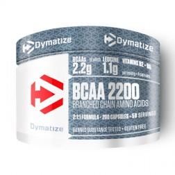 Dymatize BCAA Complex 2200 200 капсули (50 дози)