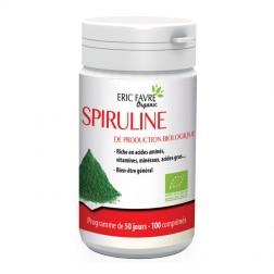 Eric Favre SPIRULINE ORGANIC BIO 500 мг. 100 таблетки (50 дози)