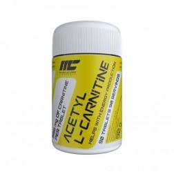MuscleCare Acetyl L-Carnitine 500 мг. 90 таблетки (90 дози)
