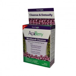 Natrol Acai Berry Weekend Cleanse 30 капсули