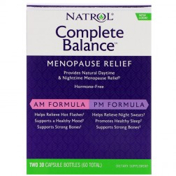 Natrol Complete Balance for Menopause AM/PM 60 капсули