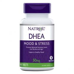 Natrol DHEA 50 мг. 60 таблетки