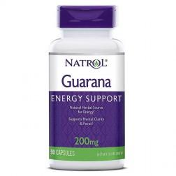 Natrol Guarana 200 мг. 90 капсули