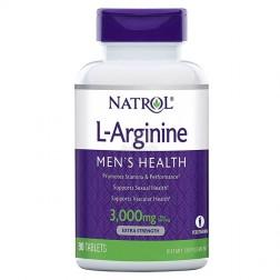 Natrol L-Arginine 3000 мг. 90 таблетки