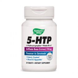 Nature's Way 5-HTP / 5-Хидрокситриптофан 50 мг. 30 таблетки