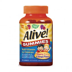 Nature's Way Alive! Желирани мултивитамини за деца 90 таблетки