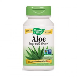 Nature's Way Aloe Vera / Алое Вера 275 мг. 100 вегетариански капсули