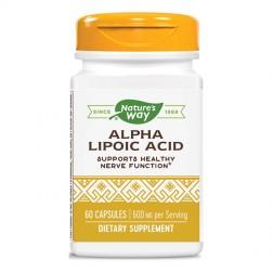 Nature's Way Alpha Lipoic Acid / Алфа-липоева киселина 360 мг. 60 капсули