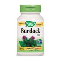 Nature's Way Burdock / Репей 475 мг. 100 вегетариански капсули