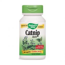 Nature's Way Catnip / Коча трева 380 мг. 100 капсули