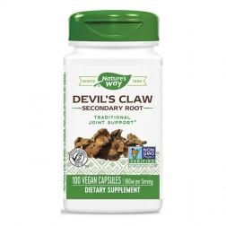 Nature's Way Devil's Claw / Дяволски нокът 480 мг. 100 вегетариански капсули