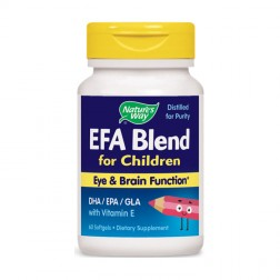 Nature's Way EFA Blend For Children / ЕФА бленд за деца 445 мг. 60 софтгел капсули