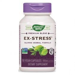 Nature's Way Ex-Stress / Екс-Стрес 445 мг. 100 вегетариански капсули