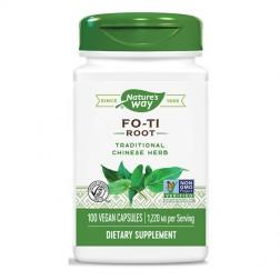 Nature's Way Fo-Ti / Фо-Ти (корен) 610 мг. 100 вегетариански капсули