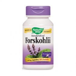 Nature's Way Forskohlii / Форсколий 250 мг. 60 вегетариански капсули