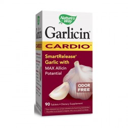 Nature's Way Garlicin Cardio / Гарлицин Кардио 350 мг. 90 таблетки