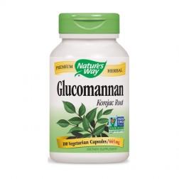 Nature's Way Glucomannan / Картофена палма 665 мг. 100 вегетариански капсули