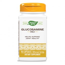 Nature's Way Glucosamine / Глюкозамин хидрохлорид 500 мг. 90 капсули