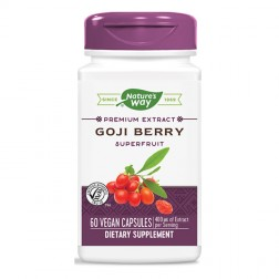 Nature's Way Goji Berry / Годжи бери 500 мг. 60 вегетариански капсули