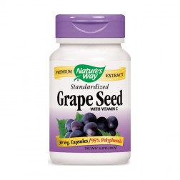 Nature's Way Grape Seed / Гроздово семе 300 мг. 30 вегетариански капсули