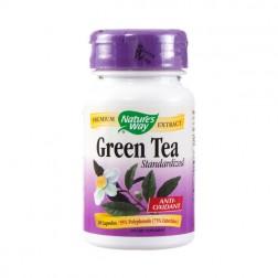 Nature's Waу Green Tea / Зелен чай 450 мг. 30 вегетариански капсули