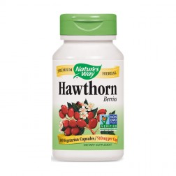 Nature's Way Hawthorn / Глог 510 мг. 100 вегетариански капсули
