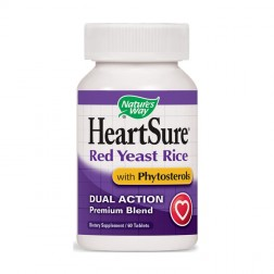 Nature's Way HeartSure plus Phytosterols / Здраво сърце плюс фитостероли 1000 мг. 60 таблетки