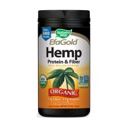 Nature's Way Hemp & Protein & Fiber Powder / Конопен протеин и фибри 454 гр.