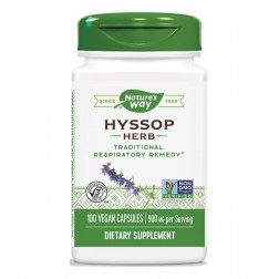Nature's Way Hyssop / Исоп 450 мг. 100 вегетариански капсули