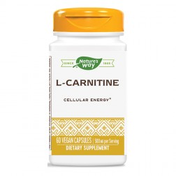 Nature's Way L-Carnitine / Л-Карнитин 500 мг. 60 вегетариански капсули