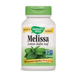 Nature's Way Melissa / Маточина 500 мг. 100 вегетариански капсули