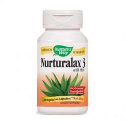Nature's Way Naturalax 3 / Натуралакс 3 430 мг. 100 вегетариански капсули