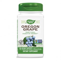Nature's Way Oregon Grape / Орегонско грозде 500 мг. 90 вегетариански капсули