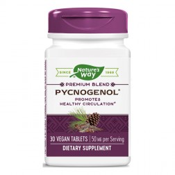 Nature`s Way Pycnogenol 50 mg / Пикногенол 50 мг. 30 таблетки