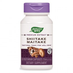 Nature's Way Shiitake Maitake / Шийтаке и Майтаке 250 мг. 60 капсули
