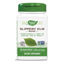 Nature's Way Slippery Elm / Червен бряст 400 мг. 100 вегетариански капсули
